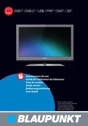 Fonctionnement du menu TV - UMC - Slovakia