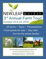 3rd Annual Farm Tour! - North Florida Community College