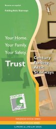 Your Family. Your Home. Your Safety. - Century Industries, Inc.