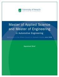 Automotive Engineering - Postsecondary Education Quality ...