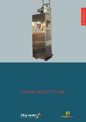 TOWER HOIST TH 250 - DieMMe