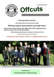 Issue 52 - Autumn 2011 (pdf format, 847 KB) - Oxfordshire County ...