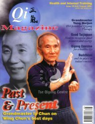 Issue 38 - Tse Qigong Centre