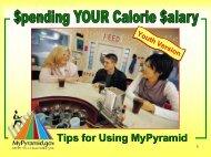 Calorie Salary