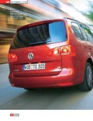 TesT VW Touran 1.4 TsI - Volkswagen AG