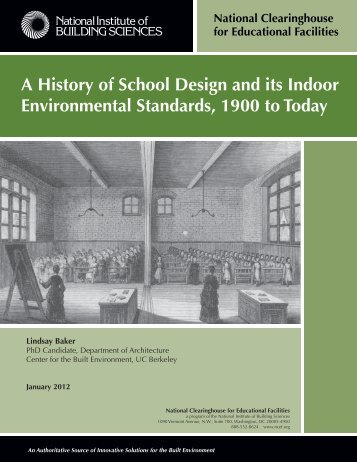 A History of School Design and its Indoor - National Clearinghouse ...