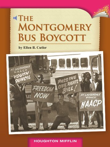 Lesson 24:The Montgomery Bus Boycott