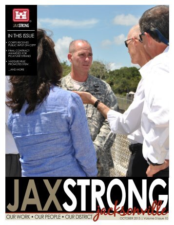 OCTOBER 2013 | Volume 5 Issue 10 - Jacksonville District - U.S. Army