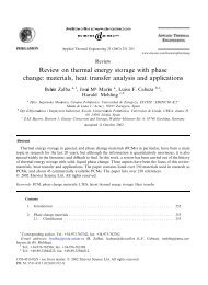 Review on thermal energy storage with phase change: materials ...