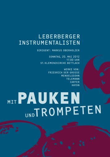 PAUKEN - Oliver Waldmann Trompeter