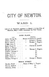Assessed Polls 1889 - Newton Free Library