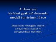 A Hunveyor program 10 éve