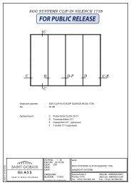 SGG SYSTEMS CLIP-IN SILENCE 1739 intern gebruik - SGG-IGS
