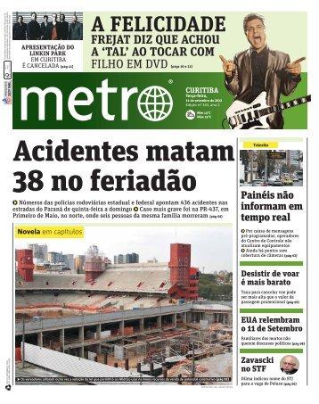 A FELICIDADE - Metro