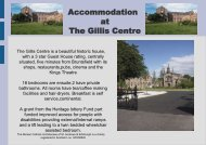 Accommodation At The Gillis Centre - Archdiocese of St Andrews ...