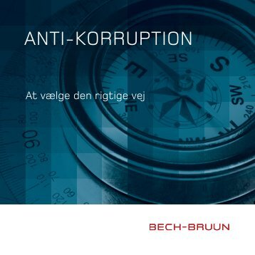 ANTI-KORRUPTION - Bech-Bruun