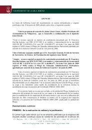C/ Major, 14 – CP 03570 – Tel. 96 6851001 – Fax 96 ... - Villajoyosa
