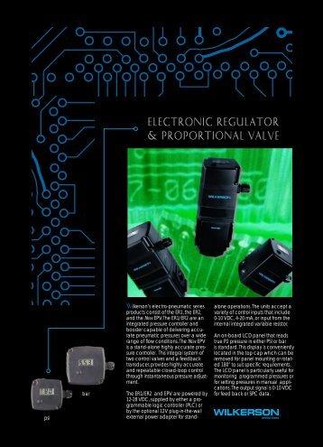Electronic Regulator & Proportional Valve