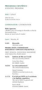 Simposio Internacional: Enfermedades raras y dismorfología - (Creer). - Page 7