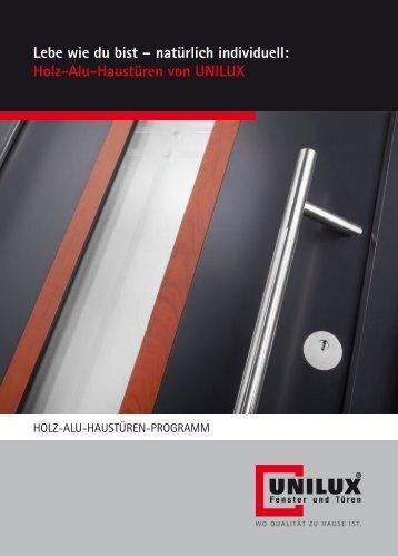 Holz-Alu-Haustüren - Exportpages