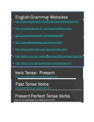 English Grammar Sites