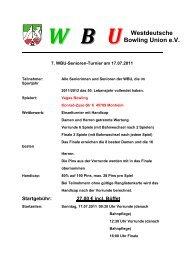 Westdeutsche Bowling Union e.V.