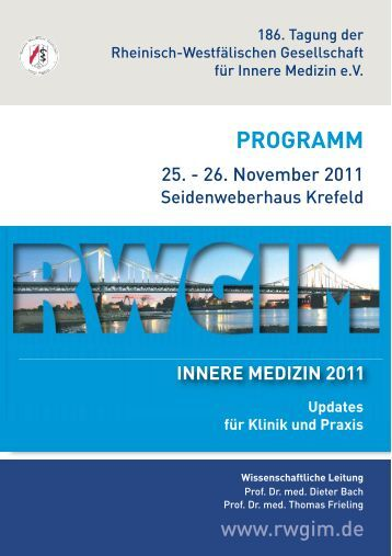 innere medizin 2011 programm - My Medical Education