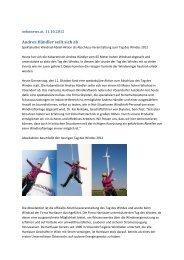 oekonews.at, 11. Oktober 2012 - WEB Windenergie AG