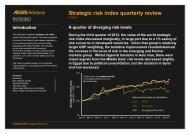 Strategic risk index quarterly review Q3 2012
