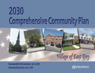 East Troy Comprehensive Community Plan Adopted 06 01 2009