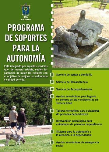 PROGRAMA DE SOPORTES PARA LA AUTONOMÍA