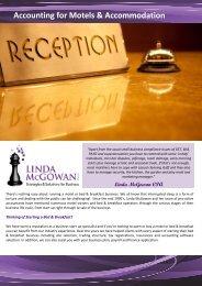 Accounting for Motels.pub - Linda McGowan Accountants
