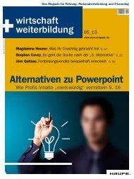 Alternativen zu Powerpoint - Haufe.de