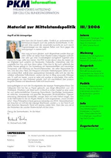 PKM - CDU/CSU-Fraktion im Deutschen Bundestag