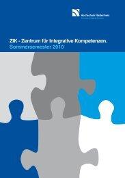 ZIK - Zentrum für Integrative Kompetenzen ... - FAN09
