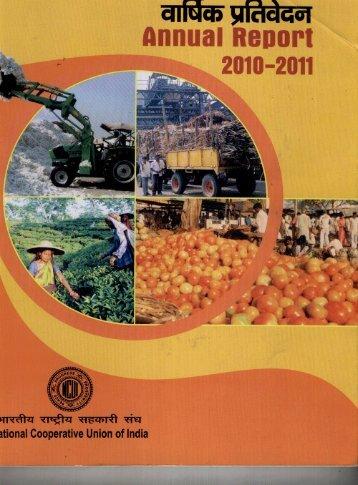 Annual Report 2010 - 2011 - NCUI
