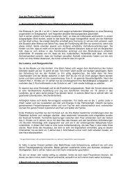 Aus der Praxis: Eine Paarberatung 1. Anonymisierte Fallskizze einer ...