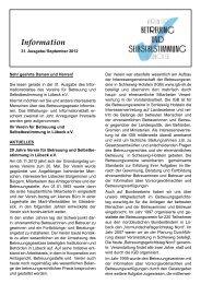 Information - Verein für Betreuung und Selbstbestimmung in Lübeck ...