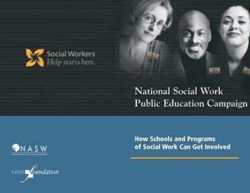 How do schools of social work participate? - NASW Foundation