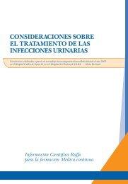 Consideraciones sobre el tratamiento de las Infecciones ... - Raffo