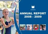 Annual Report 2008 - 2009 - City of Monash
