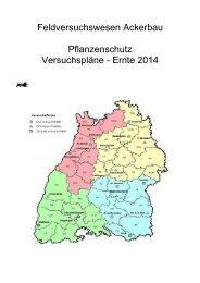 Pflanzenschutzversuche 2014 - LTZ Augustenberg