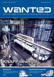KNAPP bewegt - x-technik