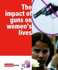 Impact of Guns on Womens' Lives - Control Arms