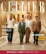 Cellier - Cream Wine Company