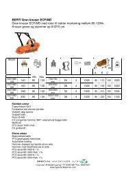 traktor monterede knuser - Special Maskiner A/S