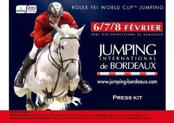 Bordeaux International jumping Bordeaux Press Kit - Reitwelten