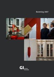 Beretning 2007 - Grundejernes Investeringsfond