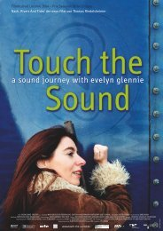 a sound journey with evelyn glennie