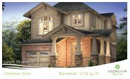 Craftsman Series Bloomfield - 1,736 Sq. Ft. Corner Elevation A